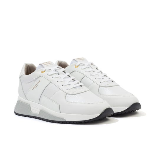 Android Homme Matador Kevlar Suede Trainers - White