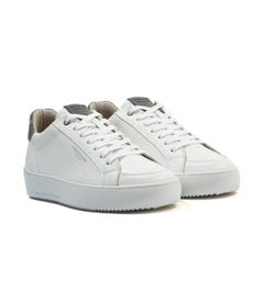 Android Homme Zuma Reflective Leather Trainers - White