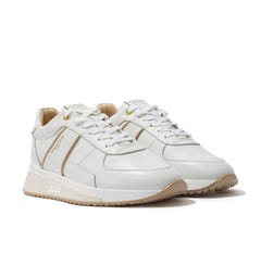 Android Homme Matador Contour Leather Trainers - White