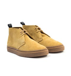 Fred Perry Hawley Suede Chukka Boots - Chestnut