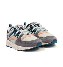 Karhu Fusion 2.0 Trainers - Frost Grey & Blue Coral