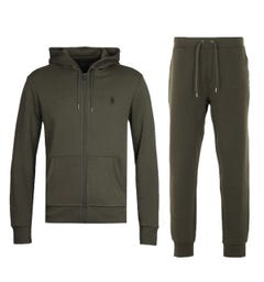Polo Ralph Lauren Performance Tracksuit - Olive Green