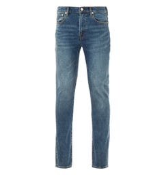 PS Paul Smith Crosshatch Stretch Slim Fit Jeans - Blue Rinse