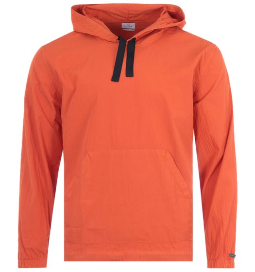 PS Paul Smith Pullover Hooded Overshirt - Orange