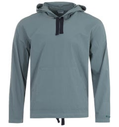 PS Paul Smith Pullover Hooded Overshirt - Blue