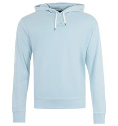 PS Paul Smith PS Stack Hooded Sweatshirt - Light Blue