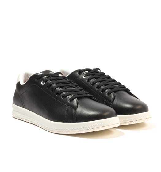 PS Paul Smith Bugs Leather Trainers - Black