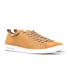 PS Paul Smith Miyata Tan Leather Trainers