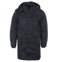 MA.Strum Two In One Trench Coat Parka - Black
