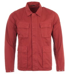 Barbour International Dion Casual Jacket - Clay Red