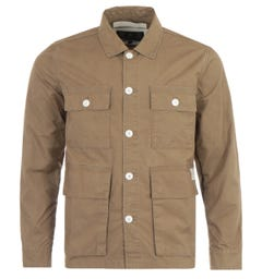 Barbour Rowden Casual Jacket - Stone