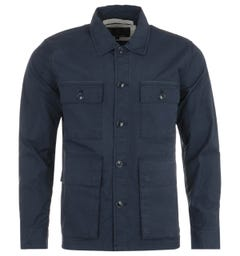 Barbour Rowden Casual Jacket - Navy