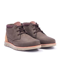 Barbour Nelson Leather Chukka Boots - Brown