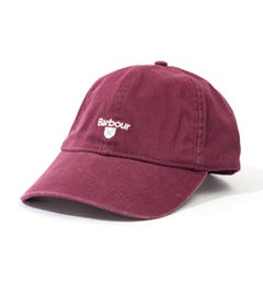Barbour Cascade Cotton Twill Sports Cap - Winter Red