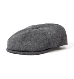 Barbour Claymore Bakerboy Hat - Muted Grey