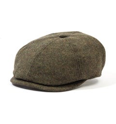Barbour Claymore Bakerboy Hat - Olive