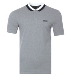 Barbour International Ampere Polo Shirt - Grey Marl
