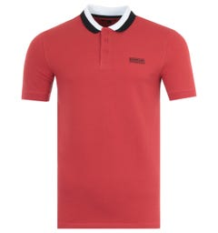 Barbour International Ampere Polo Shirt - Red