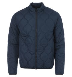 Barbour International Accelerator Race Quilted Jacket - Navy