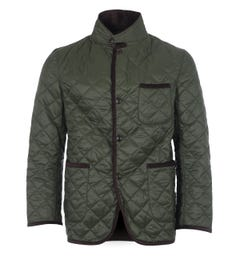 Barbour x Engineered Garments Loitery Quilted Jacket - Olive