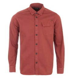 Barbour International Circuits Shirt - Root Red