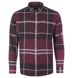 Barbour Dunoon Tailored Fit Shirt - Winter Red