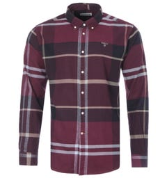 Barbour Iceloch Tailored Fit Shirt - Winter Red