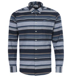 Barbour Cornhill Tailored Fit Shirt - Midnight Navy