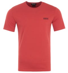 Barbour International Small Logo T-Shirt - Red