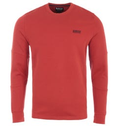 Barbour International Decal Long Sleeve T-Shirt - Red