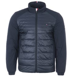Tommy Hilfiger Sustainable Padded Front Jacket - Desert Sky