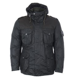 Barbour Gold Standard Canna Waxed Cotton Jacket - Olive