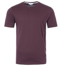 Norse Projects Niels Organic Cotton T-Shirt - Cordovan Brown