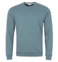 Norse Projects Vagn Organic Cotton Classic Sweatshirt - Mineral Blue