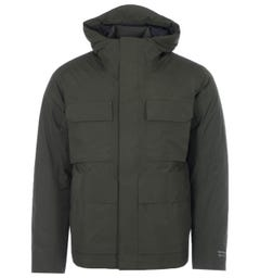 Norse Projects Nunk Down Gore Tex Hooded Jacket - Beech Green