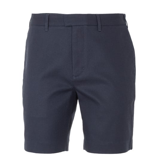 Fred Perry Waffle Texture Shorts - Navy