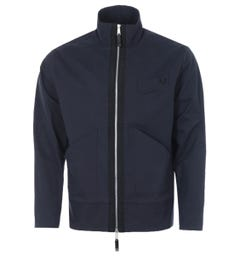 Fred Perry x Casely-Hayford Twill Funnel Neck Jacket - Navy