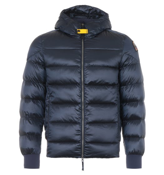 Parajumpers Pharrell Sheen Down Hooded Jacket - Navy