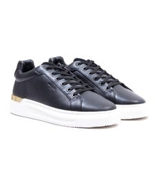 Mallet GRFTR Leather Trainers - Black