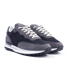 Mallet Caledonian Mesh Trainers - Black Charcoal