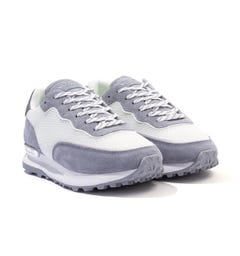 Mallet Caledonian Mesh Trainers - Grey & White