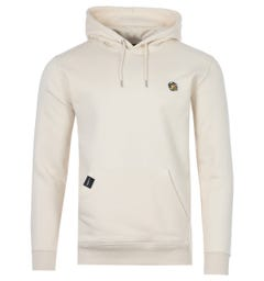 Forty Tom Organic Cotton Blend Hooded Sweatshirt - Natural