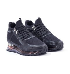 Mallet Diver 2.0 Leather Trainers - Gas Midnight Camo