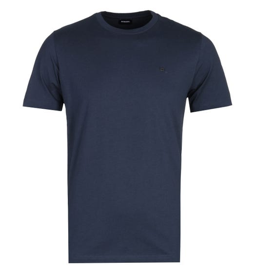 Diesel T-Zosimos Navy Crew Neck Short Sleeve T-Shirt
