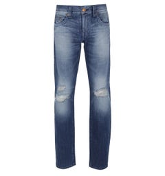 True Religion Geno Mid Blue Slim Fit Jeans