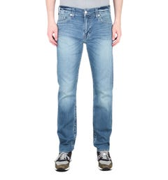 True Religion Geno Slim Fit Blue Jeans