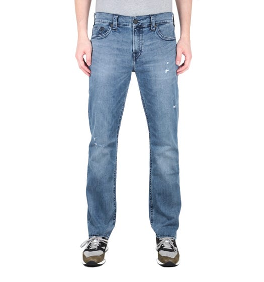True Religion Ricky Mid Blue Regular Fit Jeans