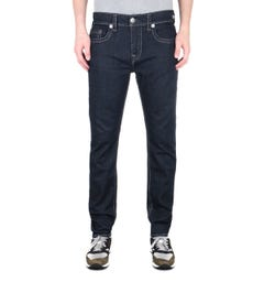 True Religion Rocco Rinse Black Slim Fit Jeans