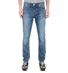 True Religion Rocco Slim Mid Blue Jeans