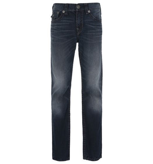 True Religion Ricky Straight Fit Midnight Blue Denim Jeans